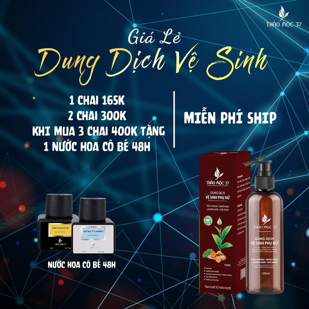 Giá ưu đãi của sản phẩm DDVS phụ nữ Thảo Mộc 37