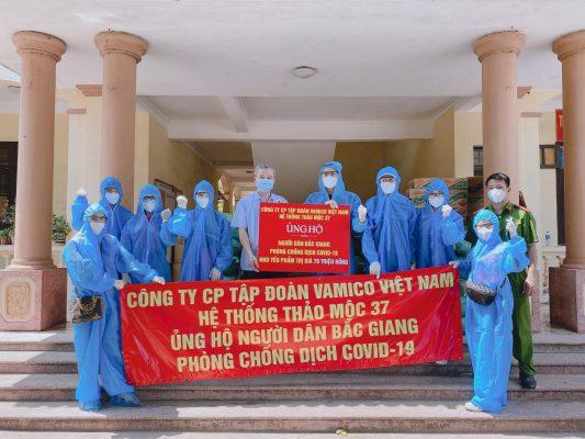 Ceo Ngô Vân cùng Vamico group chống dịch bắc giang
